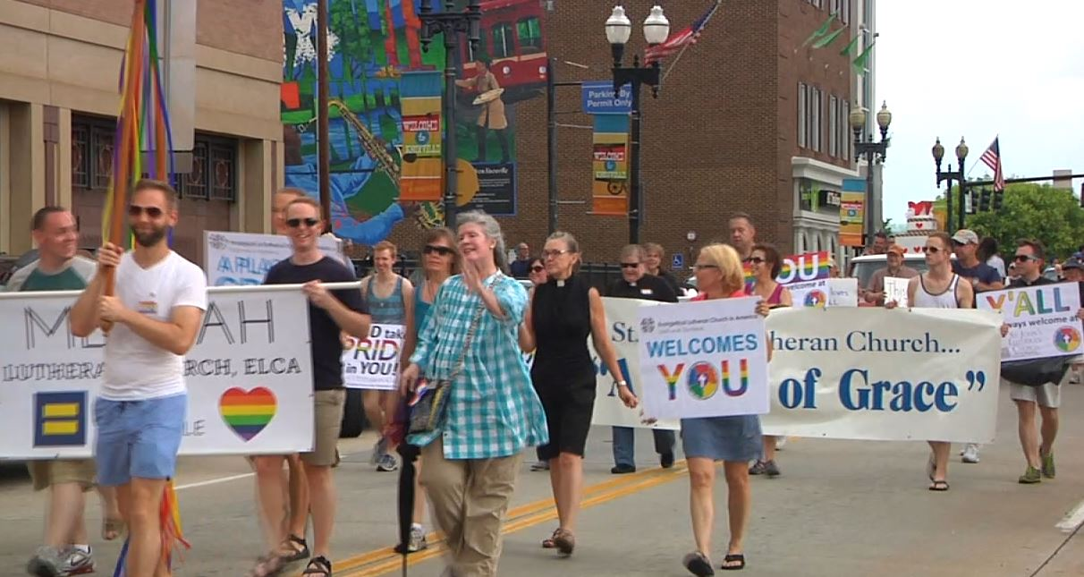 Hundreds lined the street for the annual PrideFest Parade in Knoxville_139179