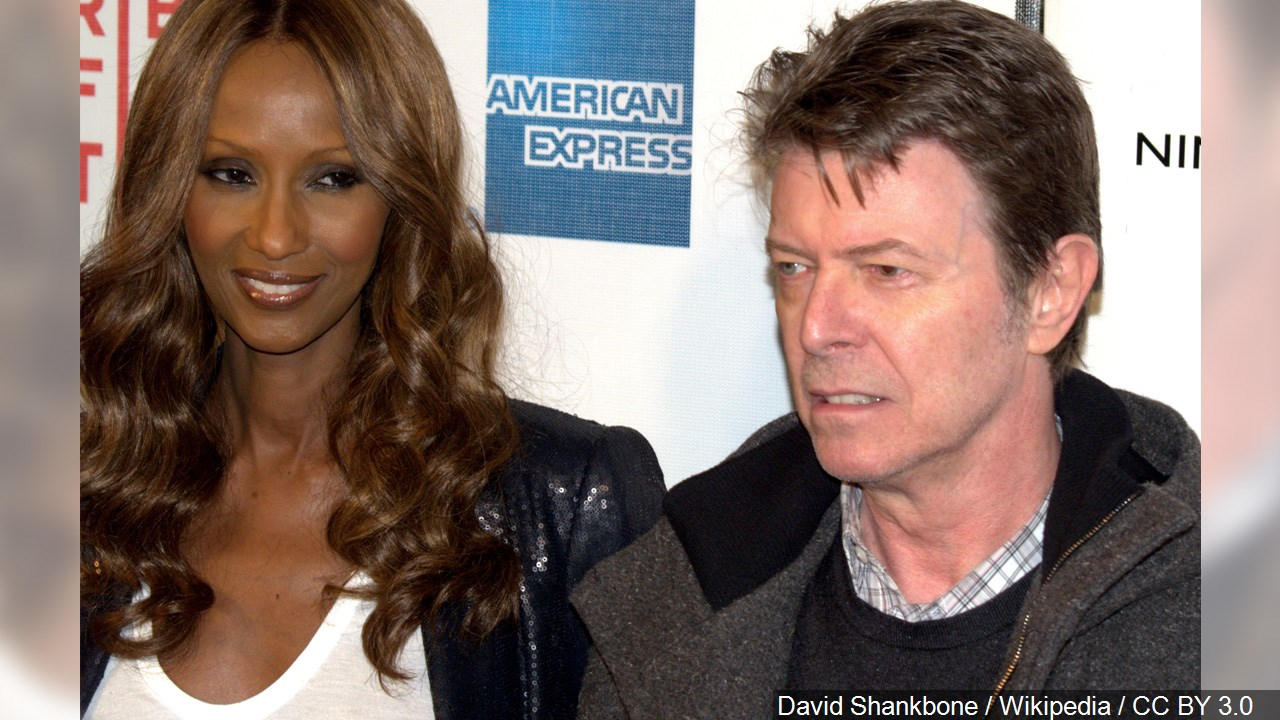 David Bowie S Wife Iman Shares Great Moments Before Husband S Death