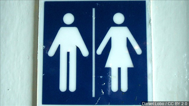 Bathrooms gender transgender man woman male female_192857