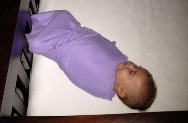 Swaddled baby_205736