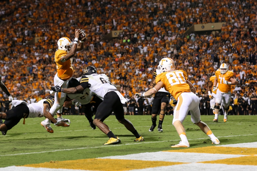 KNOXVILLE, TN - 2016.09.01 Football Tennessee vs. Appalachian State_233580