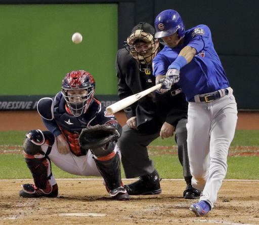 World Series Cubs Indians Baseball_245550