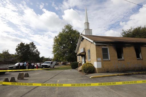 Black Church Burned-Mississippi_245717