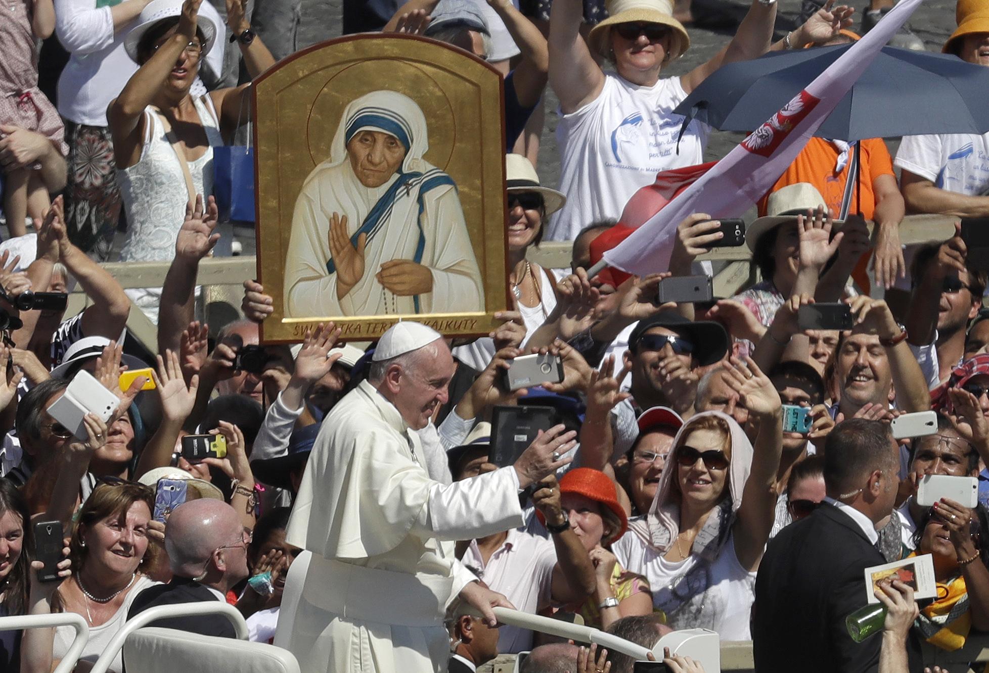 Vatican Pope Mother Teresa_233227