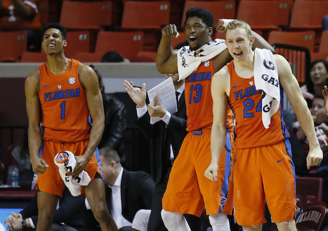 Devin Robinson,Kevarrius Hayes,Canyon Barry_280793