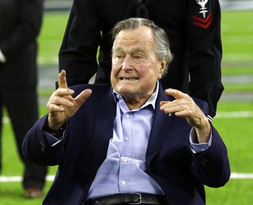 George HW Bush Hospitalized_295128