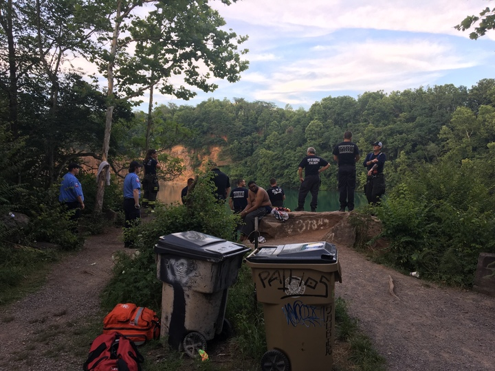 Victim identified in Knoxville quarry drowning