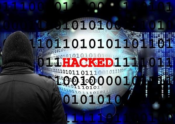 Hacked Hack Digits Binary Cyber Data Black_343416