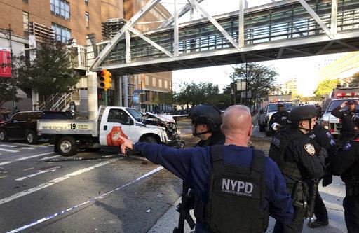 APTOPIX Manhattan Shooting_377536