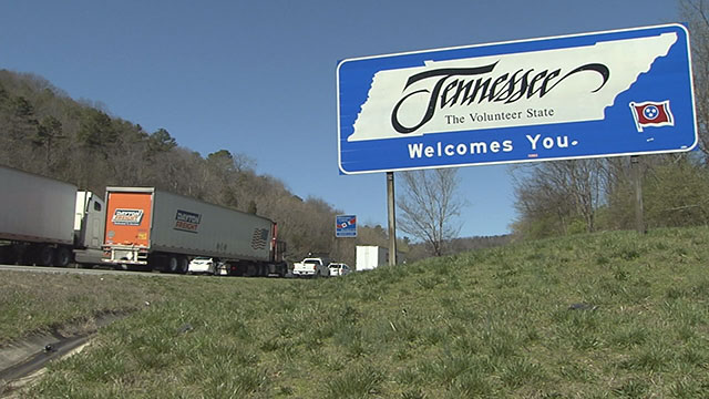interstate tennessee sign_376779