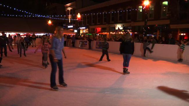 market square ice skating