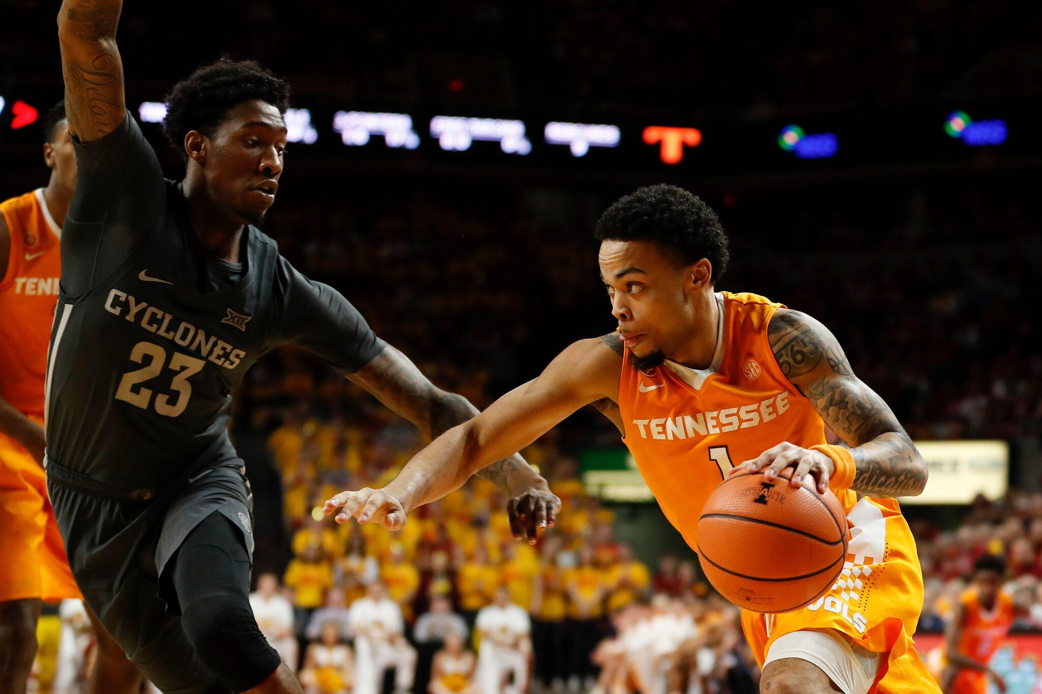 Vols Basketball - Lamonte Turner