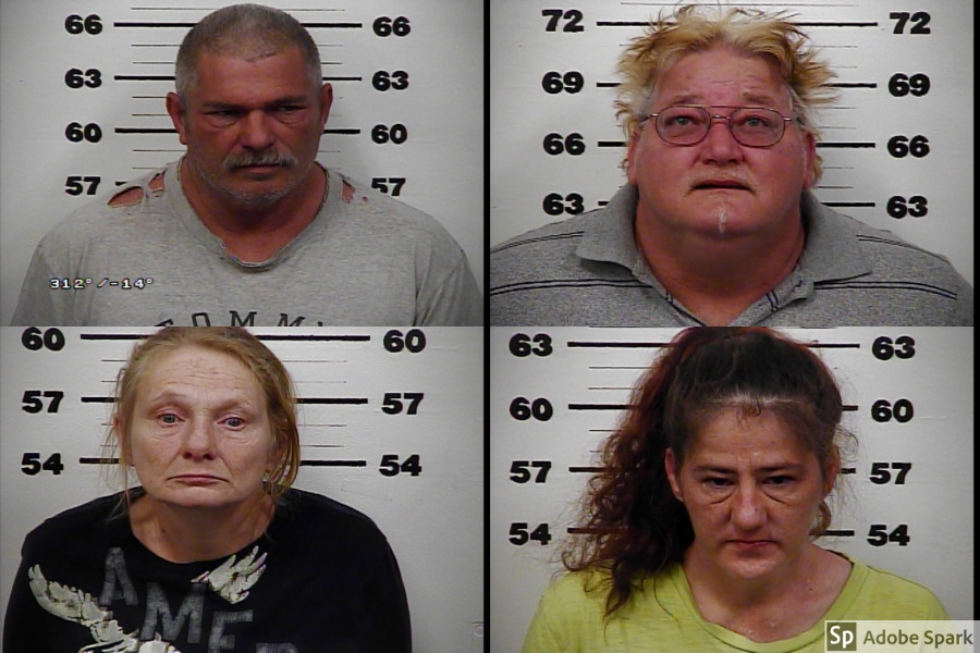 Hawkins Co  drug ring bust leads to 4 arrests