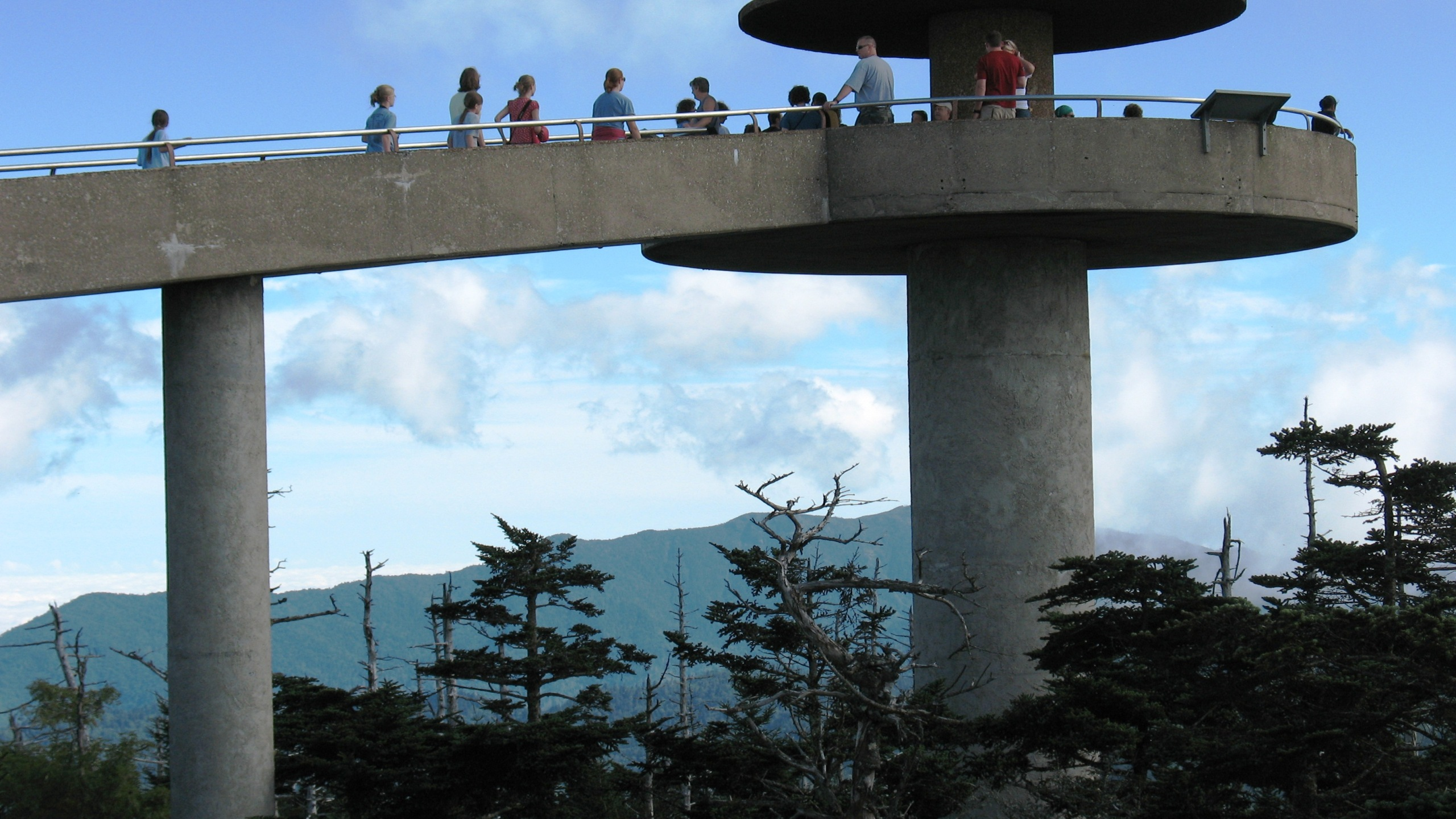 Clingmans Dome Observation Tower - NPS_218840