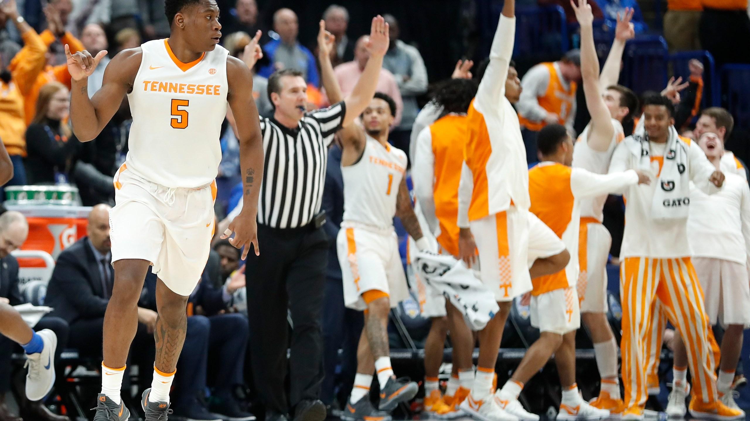 SEC Kentucky Tennessee Basketball_1520805865360