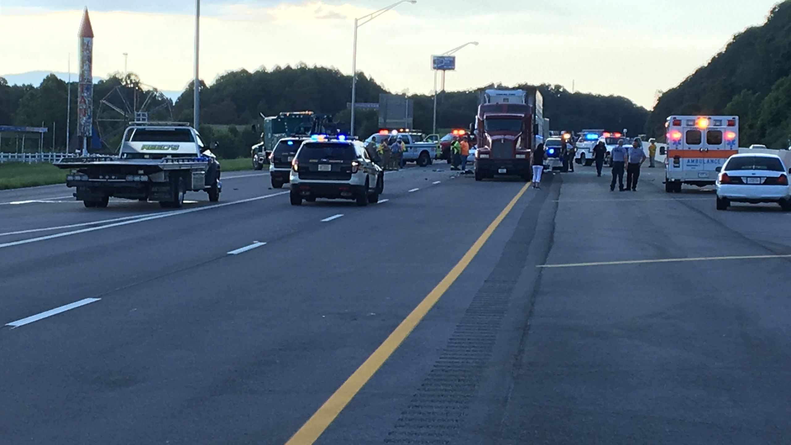THP identifies three killed in Campbell County crash on I-75