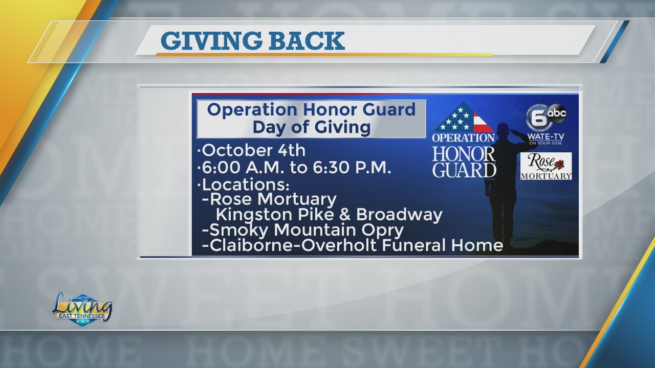 Honor Guard Day of Giving reminder