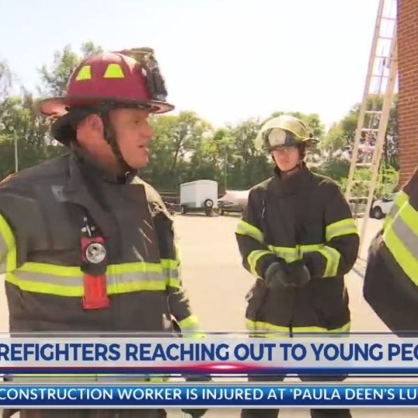 KFD Firefighters reach out to local youth