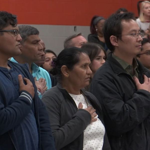 U.S. Naturalization event at Pigeon Forge High School