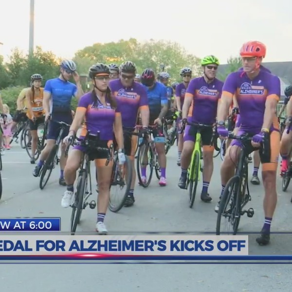 Pedal for Alzheimer's kicks off