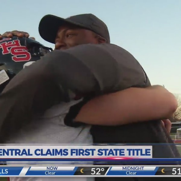 Central celebrates first state title