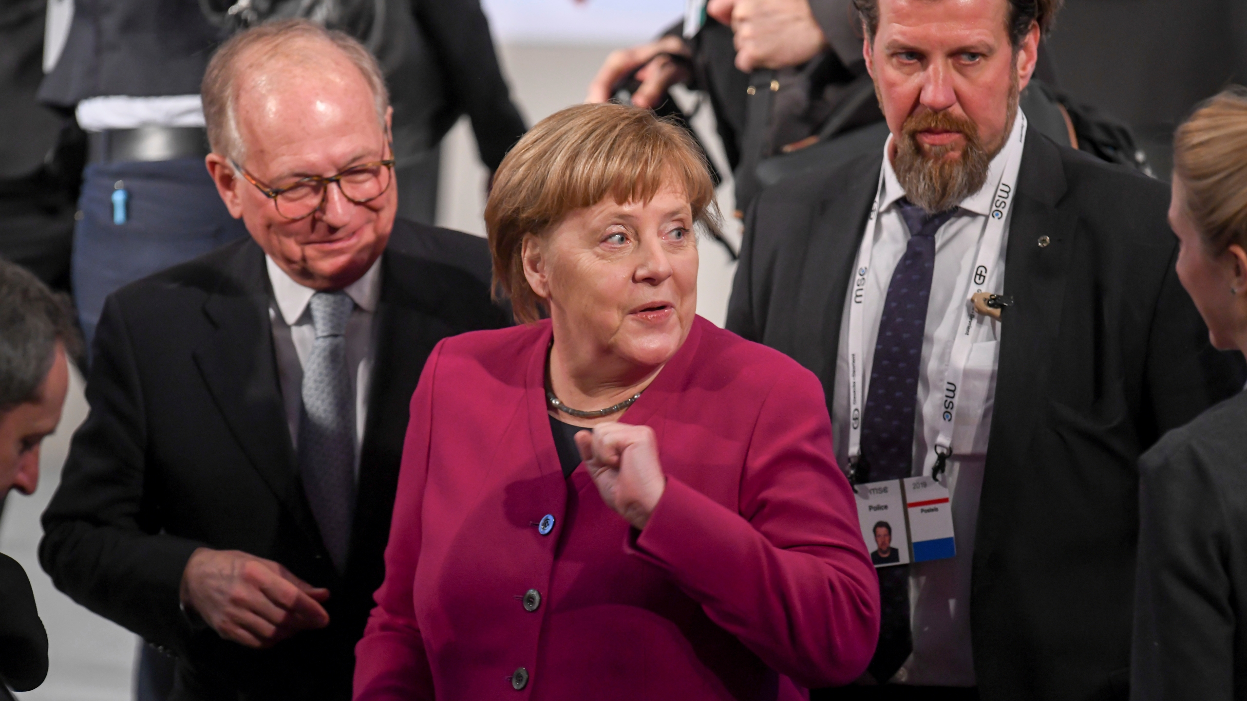 Germany Munich Security Conference_1550326947180
