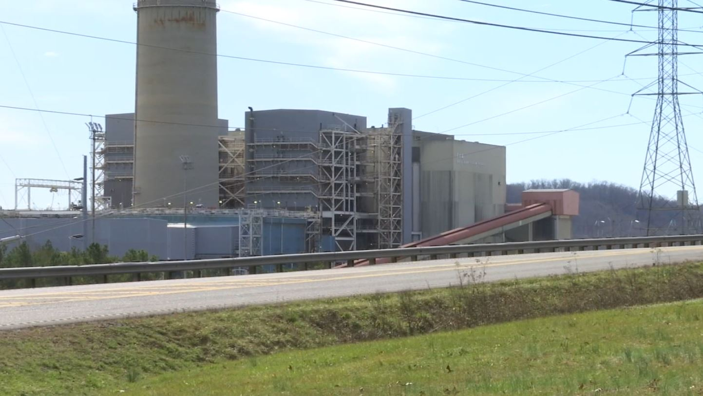 FILE - Bull Run Fossil Plant in Anderosn County, Tennessee.
