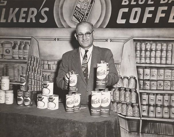 Cas Walker at WATE around 1960