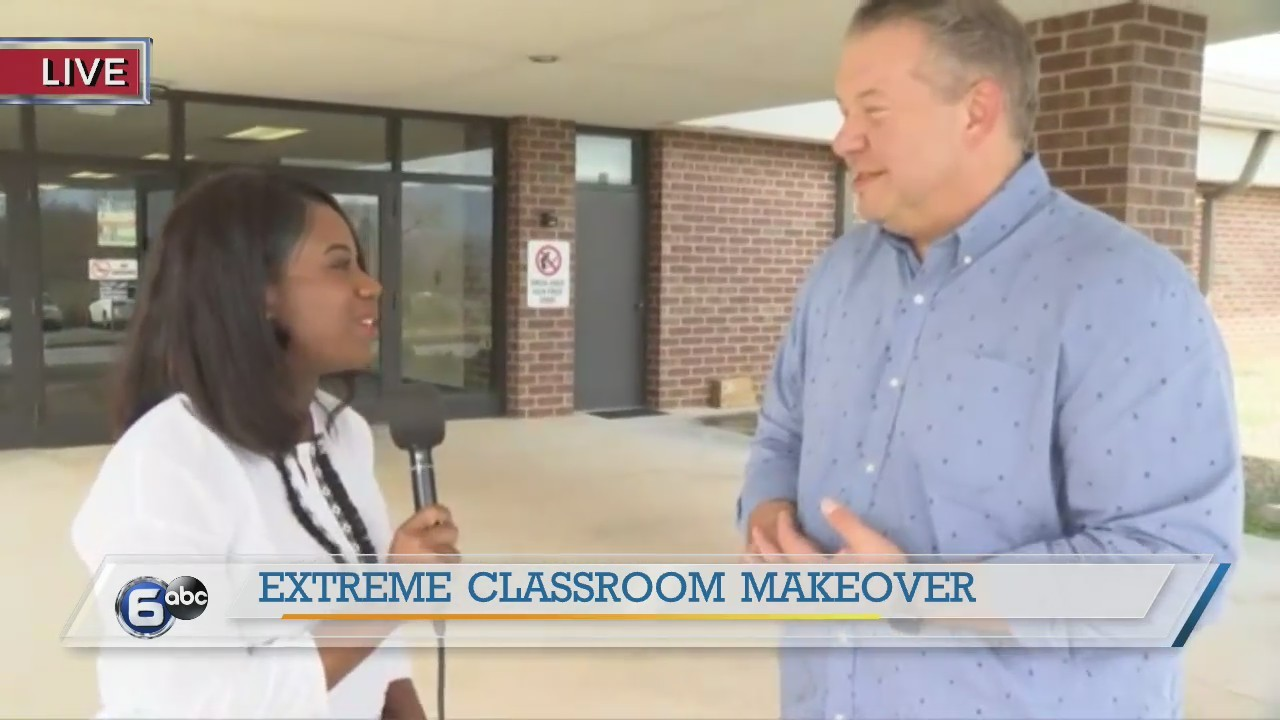 Extreme Classroom Makeover