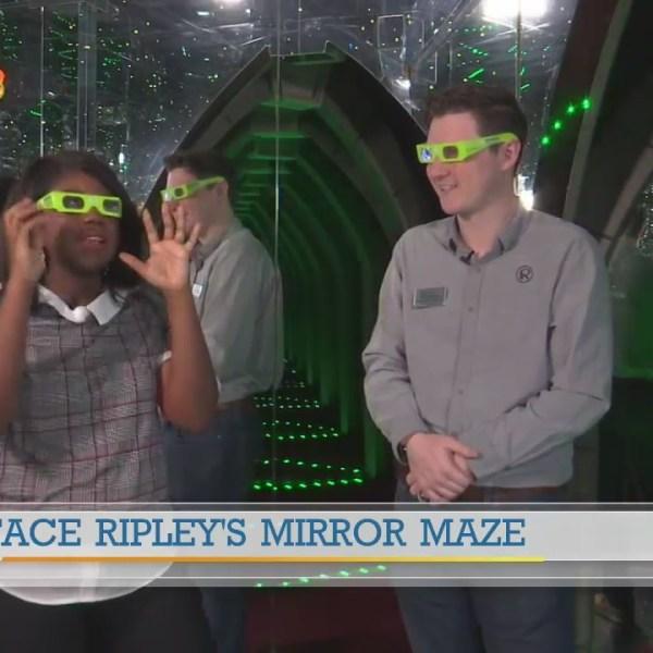 Face Ripley's Mirror Maze