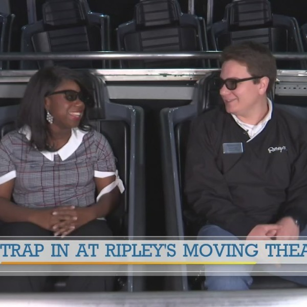 Strap in for fun at Ripley's Moving Theater