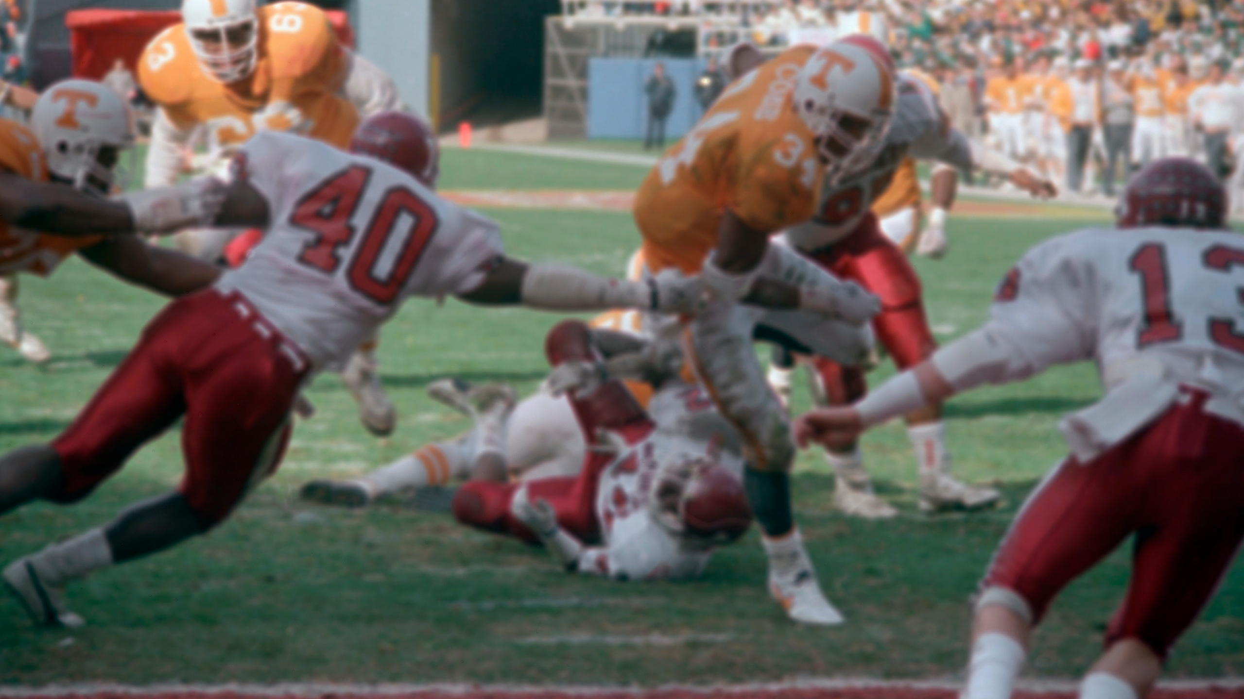 Football College Games 1987 Peach Bowl Tennesse vs Indiana_1555843505709