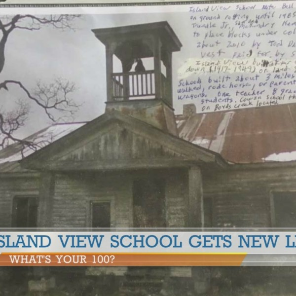 Island View School gets new life