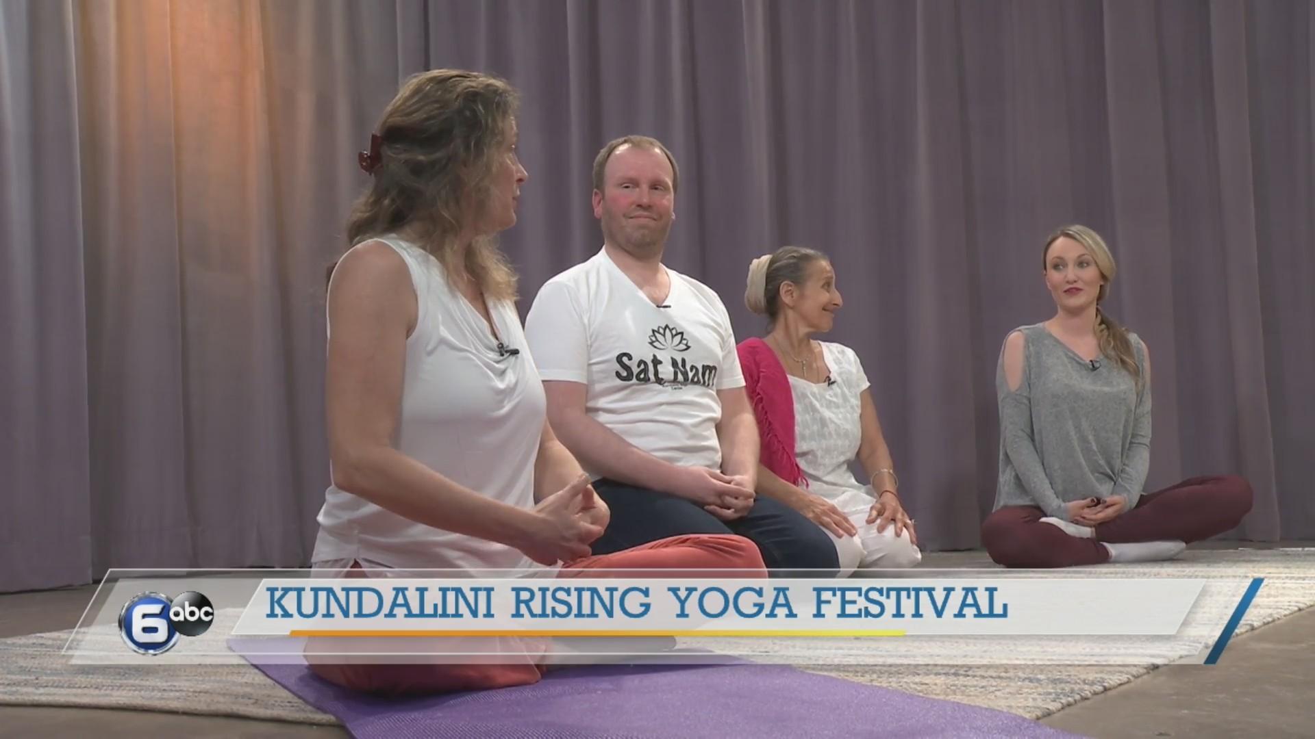 Kundalini Rising Yoga Festival - practice flow