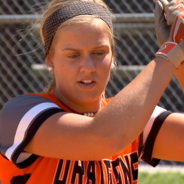 Clinton Softball Lexie Jacobik
