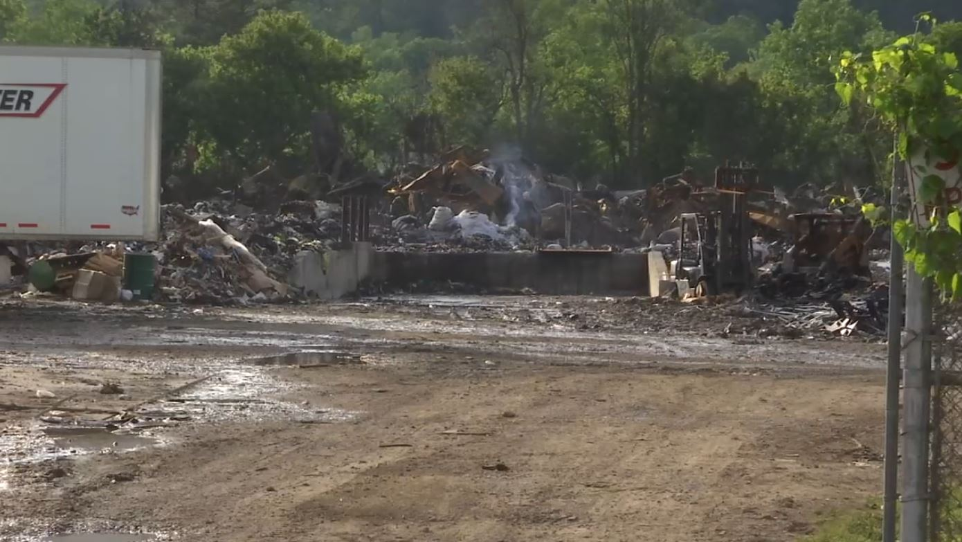 COVER PHOTO_North Knox recycling facility fire extinguished_0503_1556941305825.JPG.jpg