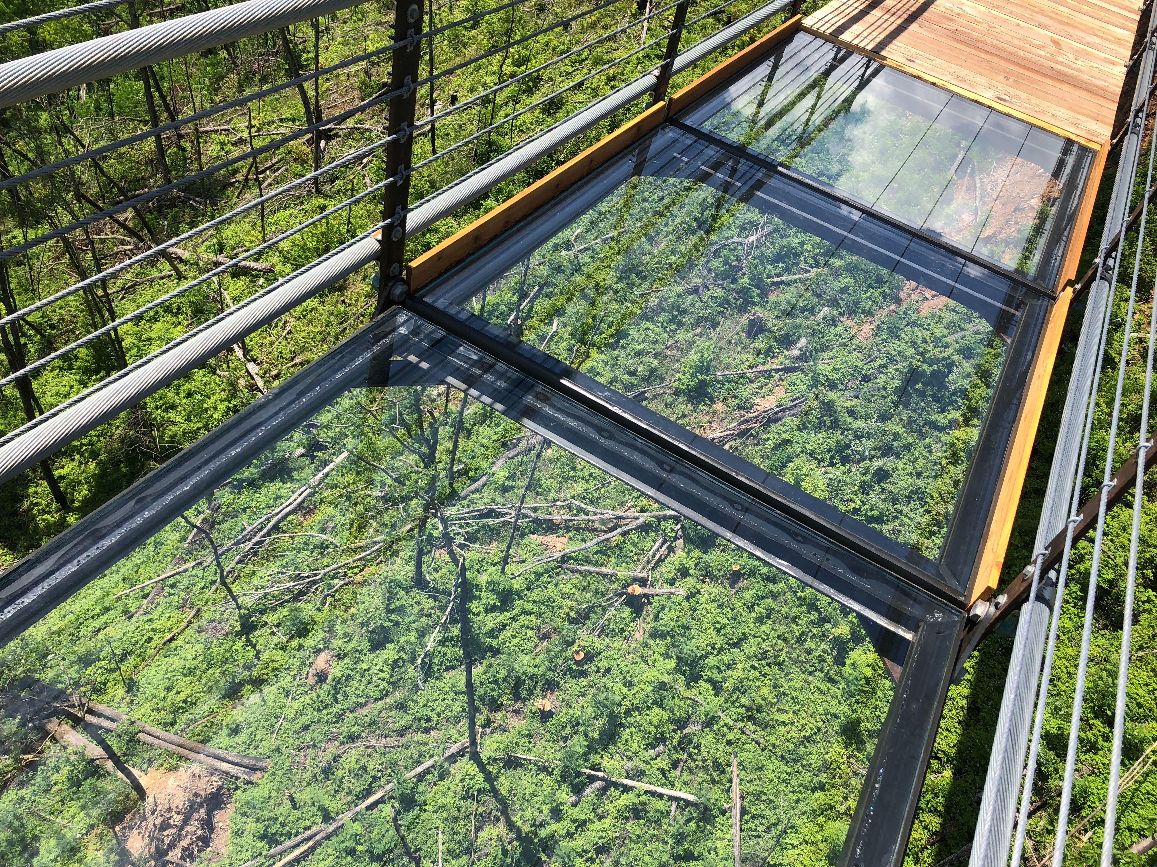 PHOTOS: The amazing Gatlinburg SkyBridge suspension bridge