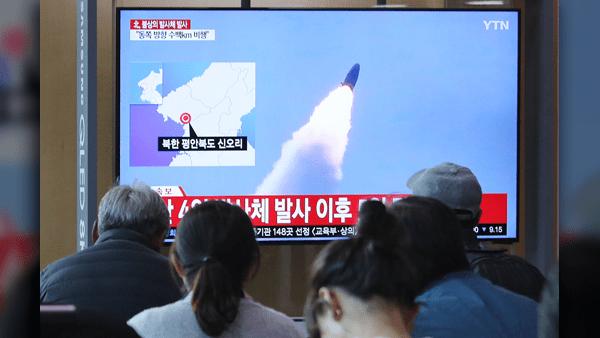 South-Korea-North-Korea-projectile