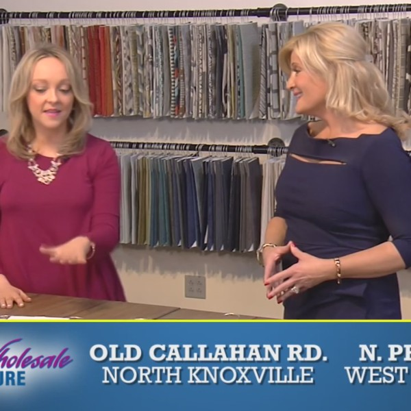 Knoxville Wholesale Furniture shows off fabulous fabrics & upholstery