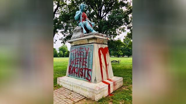Confederate Centennial vandalism-873703986