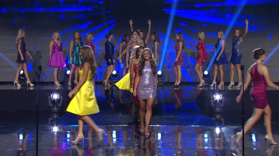 Preliminaries Thursday night, June 27, 2019, of the 81st Annual Miss Tennessee Scholarship Competition at Thompson-Boling Arena in Knoxville. (Courtesy of the 81st Annual Miss Tennessee Scholarship Competition)