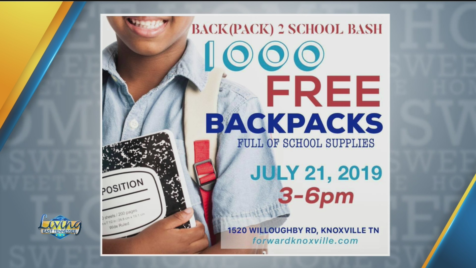 Time for the Back(pack) to school bash with Forward Church | WATE