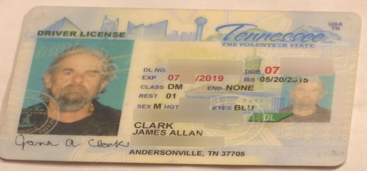 report stolen drivers license tennessee