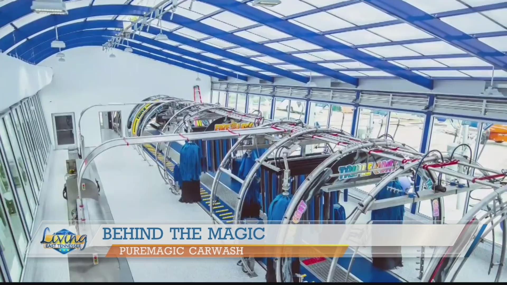 Taking you behind the magic at PureMagic Carwash | WATE