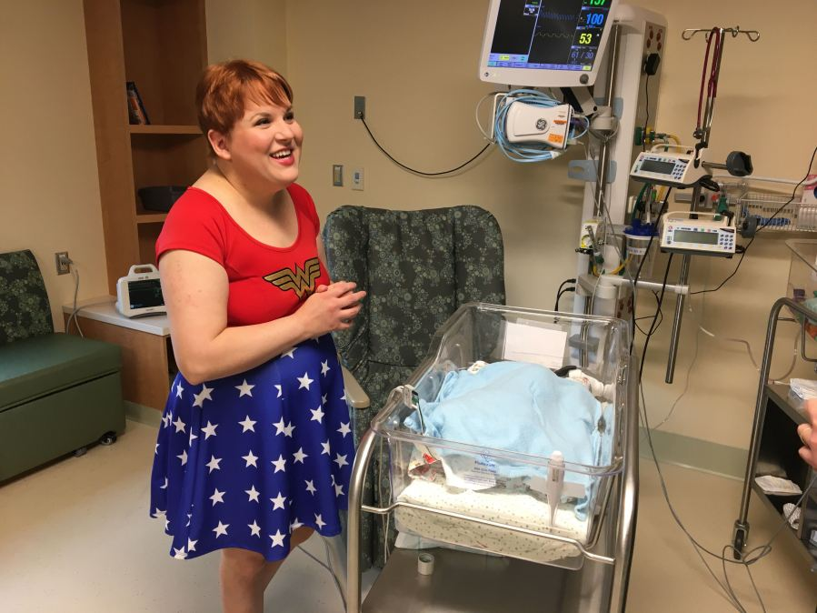 Babies dressed up for Halloween at UT Medical's NICU wing