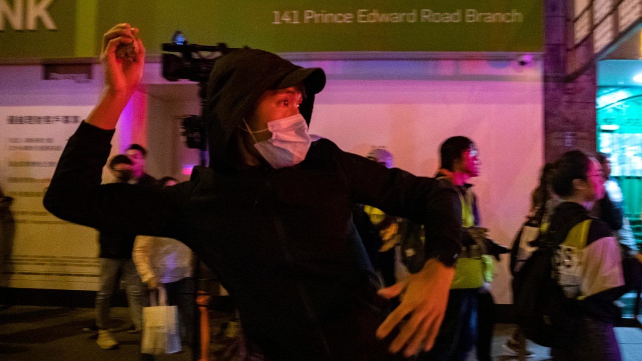Hong Kong Pro-democracy Rally Cut Short By Police Tear Gas