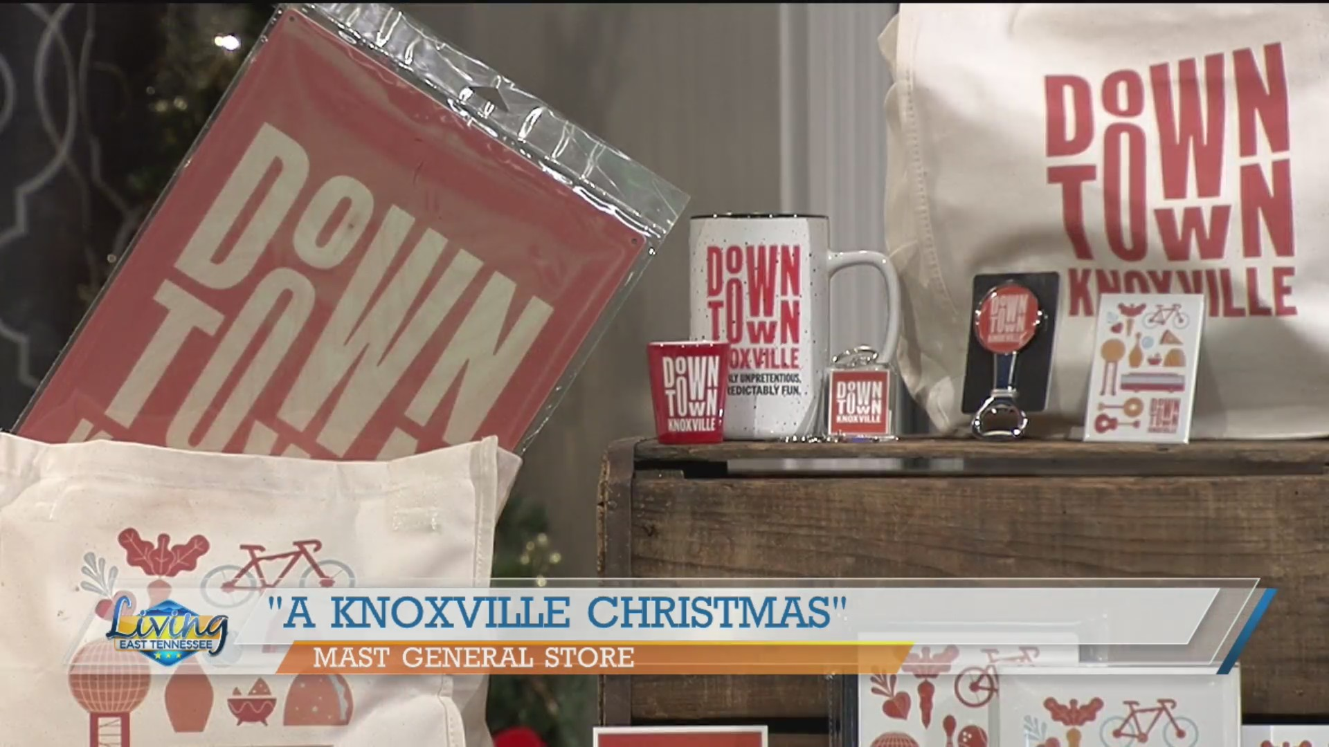 A Knoxville Christmas come to life at Mast General Store