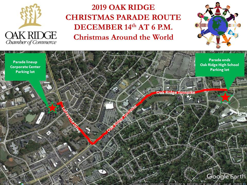 Oak Ridge Christmas Parade route | WATE 6 On Your Side