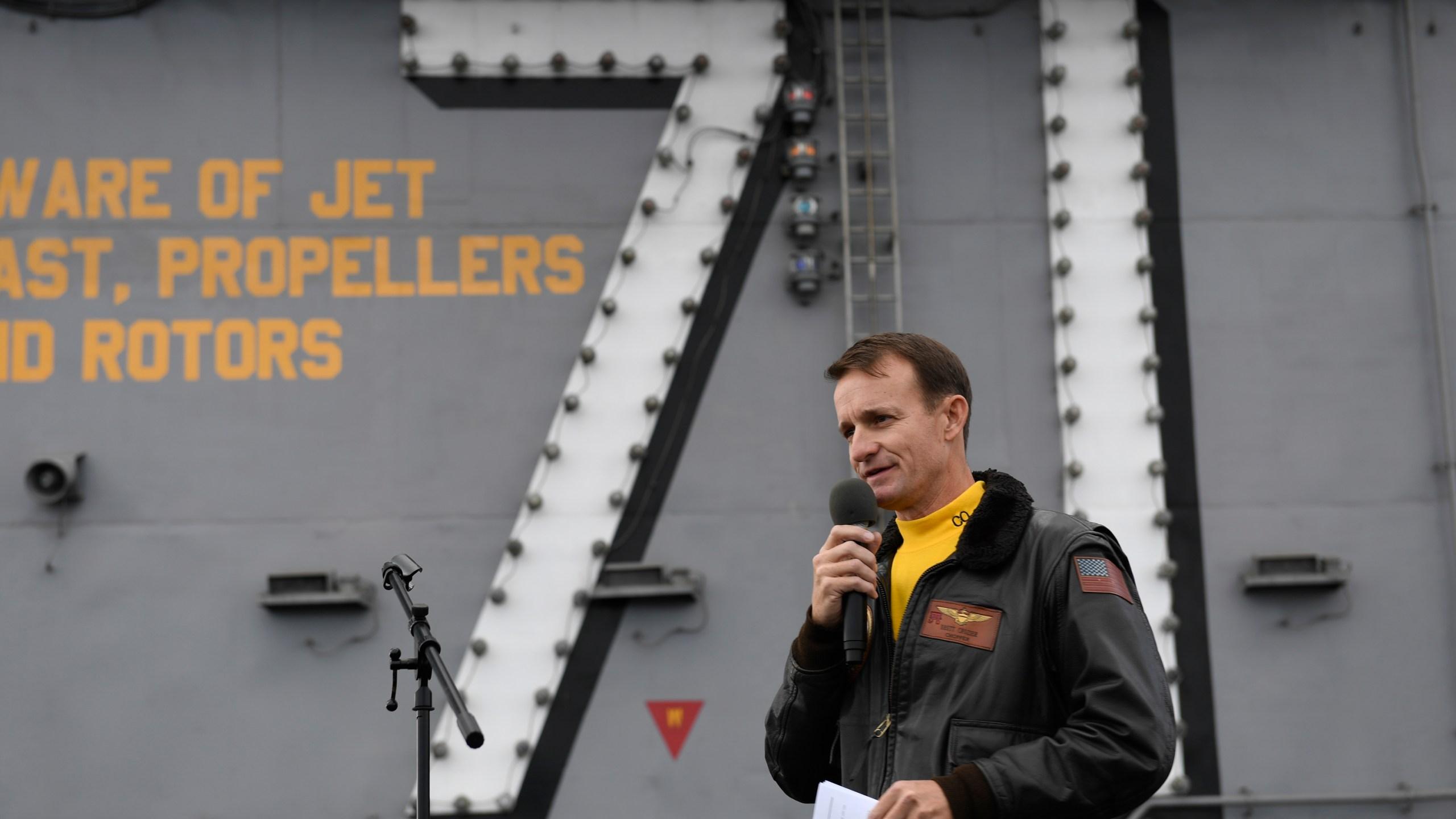 Navy boss resigns amid uproar over firing of ship captain – WATE 6 ...