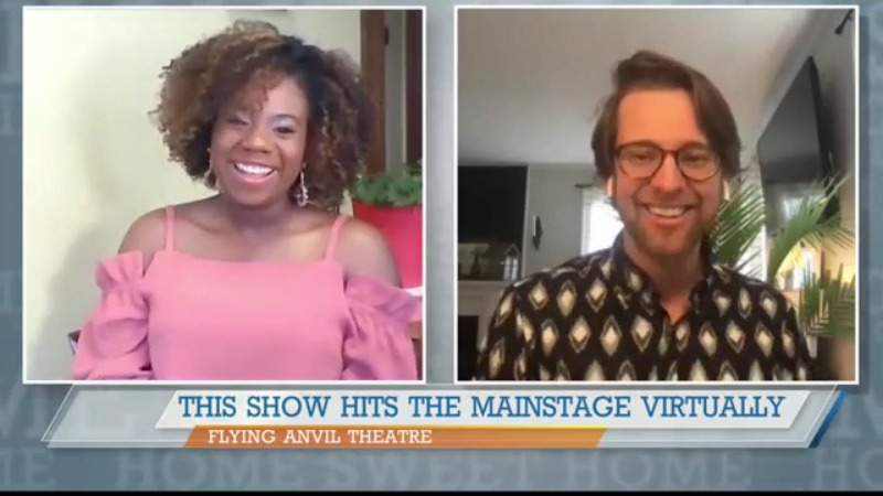 Flying Anvil Theatre sets the stage for live, virutal show
